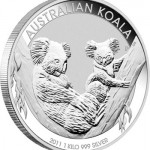 2011 Australian Silver Koala Coins from the Perth Mint