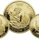 Royal Mint Issues London 2012 Gold Series: Faster, Three Coin Set
