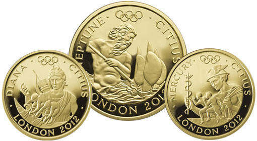 2012 London Gold Coins