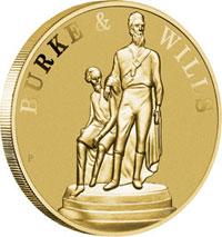 Burke & Wills $1 Coin