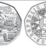 Grossglockner High Alpine Road 5 Euro Silver Coin