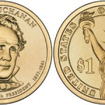 James Buchanan Presidential Dollar Launched, 25-Coin Rolls on Sale
