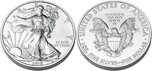 2010 Silver Eagles