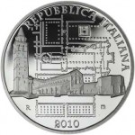 Aquileia 10 Euro Coin from the Italian State Mint
