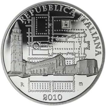 Aquileia 10 Euro Silver Coin