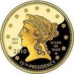 US Mint Sales: Buchanan's Liberty Near 50% of Maximum Mintage