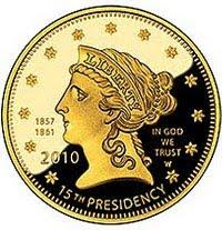 Buchanan's Liberty Gold Coin