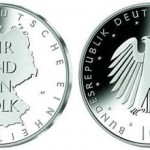 10 Euro Silver Coin Commemorates 20 Years of German Unity