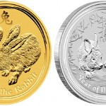 Perth Mint's Year of the Rabbit Gold and Silver Coins