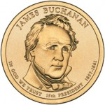 US Mint Sales: James Buchanan Coin Covers Debut