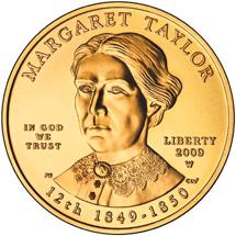 Margaret Taylor Gold Coin