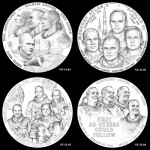 New Frontier Congressional Gold Medal Designs Reviewed by CCAC