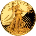 US Mint Sales: One Ounce Proof Gold Eagle Sold Out