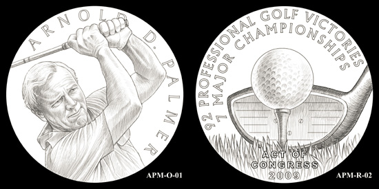 CCAC Recommendations for Arnold Palmer Congressional Gold Medal