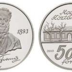Ferenc Erkel Gold and Silver Coins from Hungary
