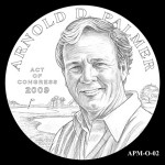 CCAC Reviews Arnold Palmer Congressional Gold Medal Designs
