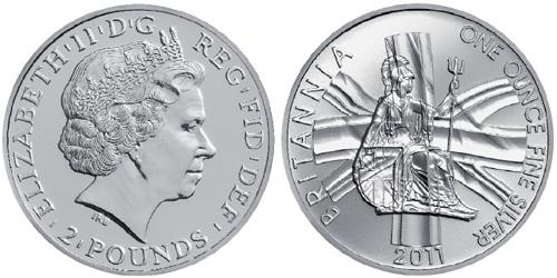 2011 Silver Britannia
