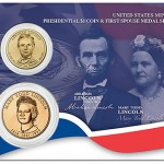 US Mint Offers Abraham Lincoln $1 Coin & First Sposue Medal Set