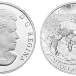 "Royal Canadian Mint Issues ""Winter Scene"" Silver Coin"