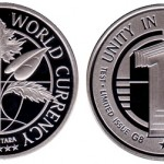 United Future World Currency Prototype Silver Coins