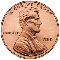 2010 penny