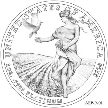 2011 Platinum Eagle Reverse Design Candidate 1