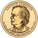Andrew Johnson Featured on Presidential $1 Coin
