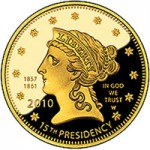 US Mint Sales: James Buchanan's Liberty Gold Coin in Focus