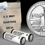 Gettysburg Quarter Bags and Rolls on Sale