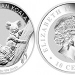 Perth Mint Offers One-Tenth Ounce Silver Koala Coins