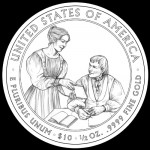 CCAC Reviews Designs for Eliza Johnson First Spouse Coin and Medal