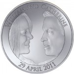 Price William & Kate Middleton Royal Wedding Commemorative Coin Design