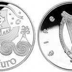 St. Brendan €10 Silver Coin Issued by Central Bank of Ireland