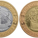 2011 Mary Rose £2 Gold and Silver Coins
