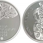 Hella Wuolijoki €10 Silver Coin Issued by Mint of Finland