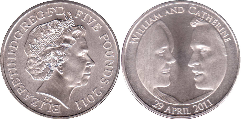 William and Catherine coin