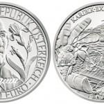 Austrian Mint Issues Nikolaus Joseph von Jacquin 20€ Silver Coin