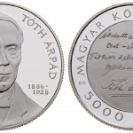 New Hungarian Coin Features Árpád Tóth