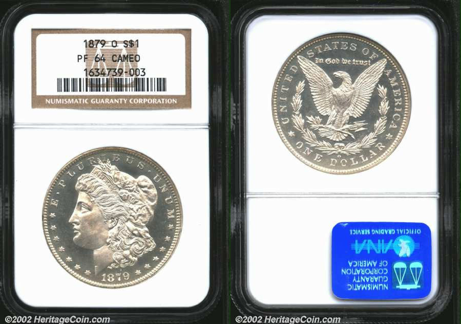 1879-O Branch Mint Proof Morgan Dollar, Image: Heritage Auctions