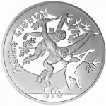 Endangered Primates Portrayed on Silver Coins