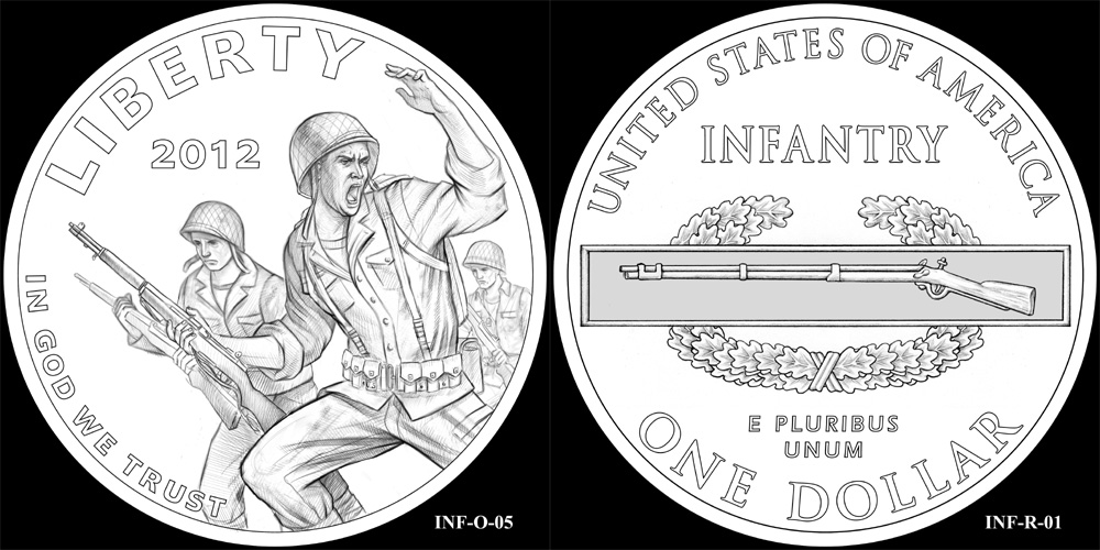 Infantry Silver Dollar - CCAC Recommendations
