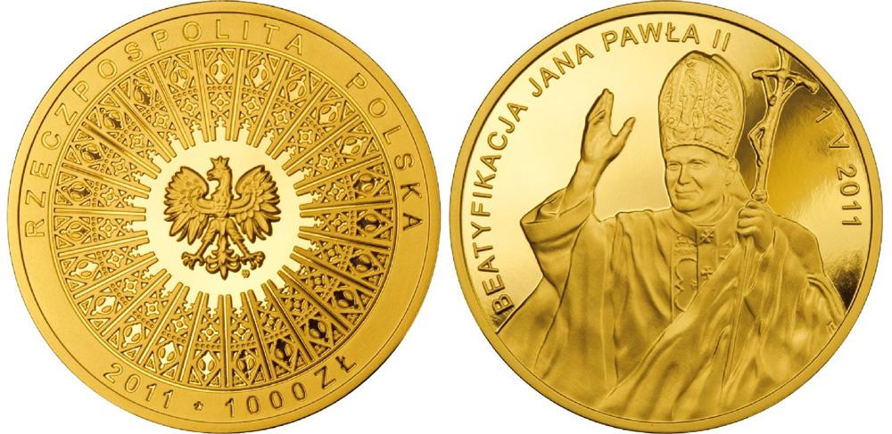 Pope John Paul II Gold Coin