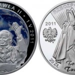 Beatification of John Paul II Silver Coin from the Mint of Poland