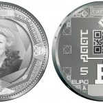 Dutch Commemorative Coins Include First QR Code in Numismatics
