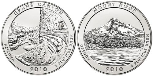 Grand Canyon and Mount Hood