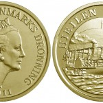 Hjejlen 20 Kroner Coin from the Royal Danish Mint