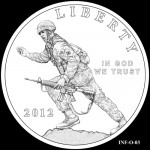 CFA Reviews 2012 Infantry Commemorative Silver Dollar Designs