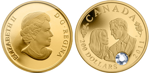 Wedding Celebration Gold Coin