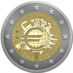 New Eurozone Commemorative Coin to Mark 10th Year of Banknotes and Coins
