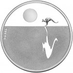 2011 Kangaroo at Sunset $1 Silver Proof Coin